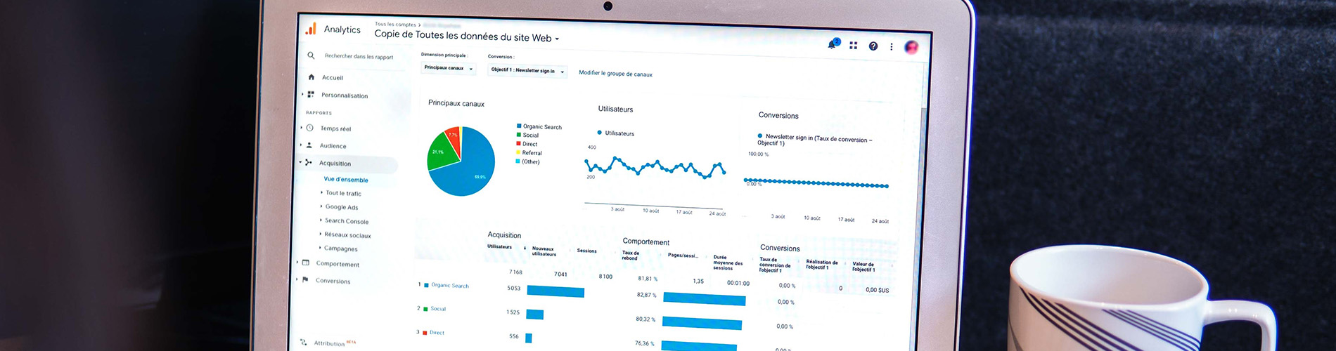 Maitriser Google Ads & Analytics